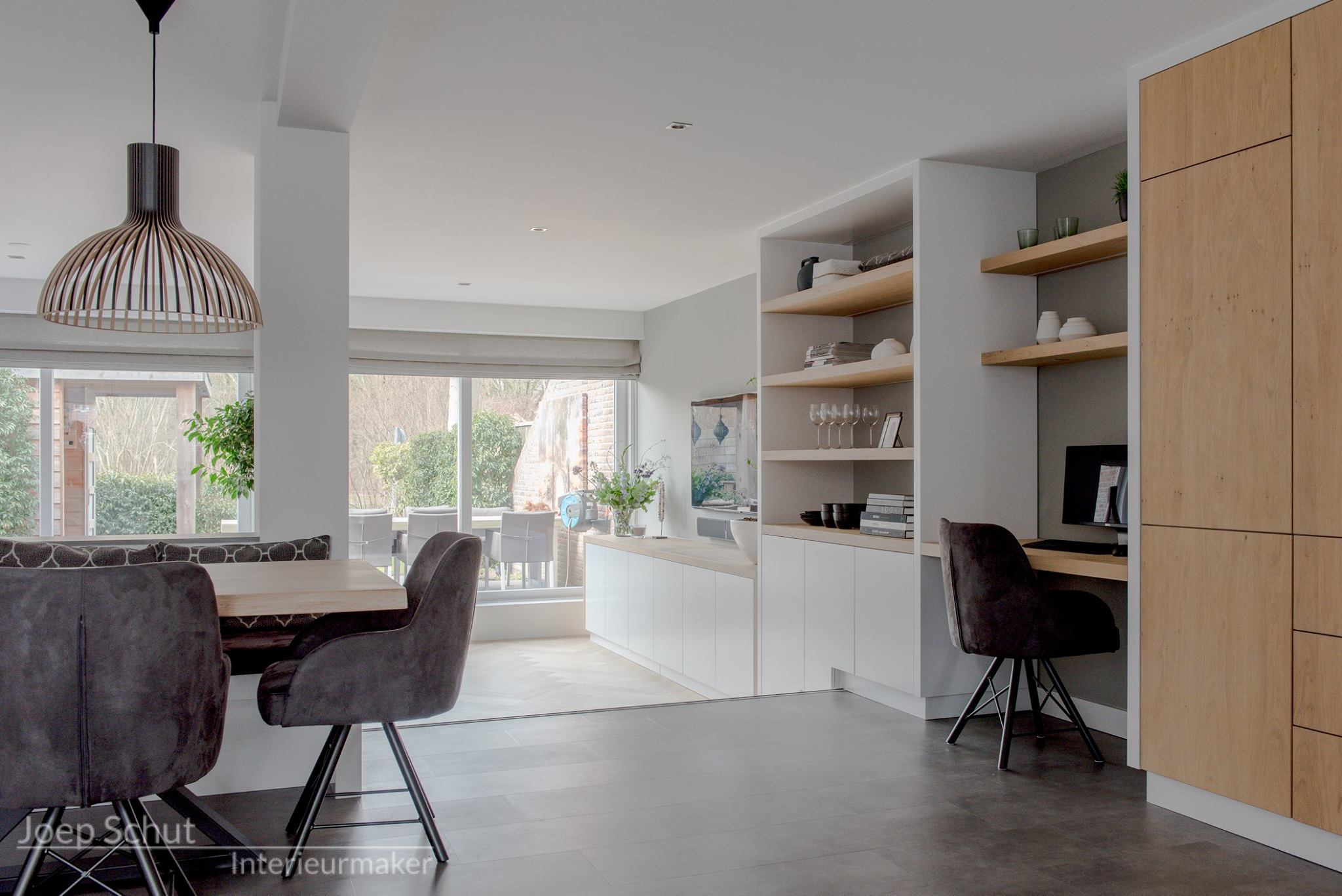Kasten Woonkamer Interieur : Project heiloo handgemaakte keuken en interieur woonkamer
