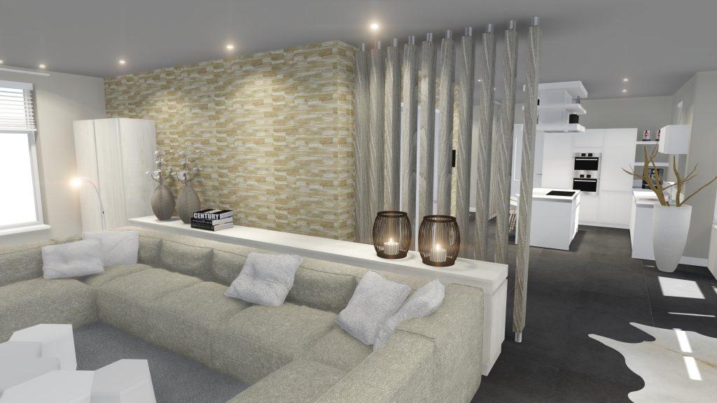 Roomdevider In Woonkamer : Project heiloo roomdivider woonkamer joep schut